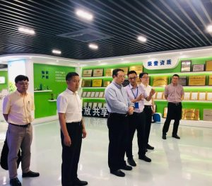Wang Hong, deputy mayor of Hangzhou, visited Top Cloud-agri